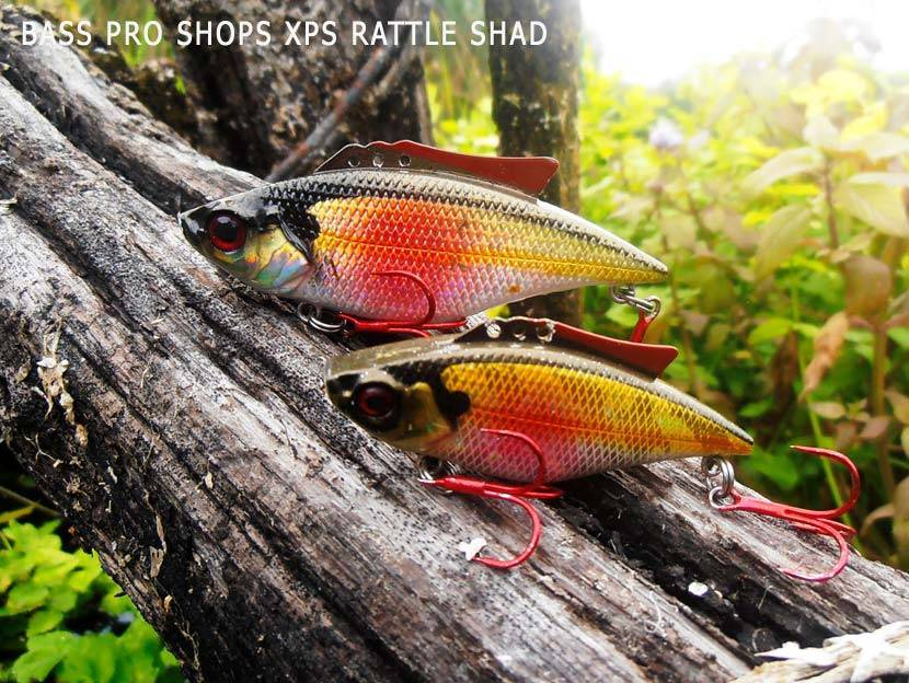 Раттлин Bass Pro Shops XPS Rattle Shad